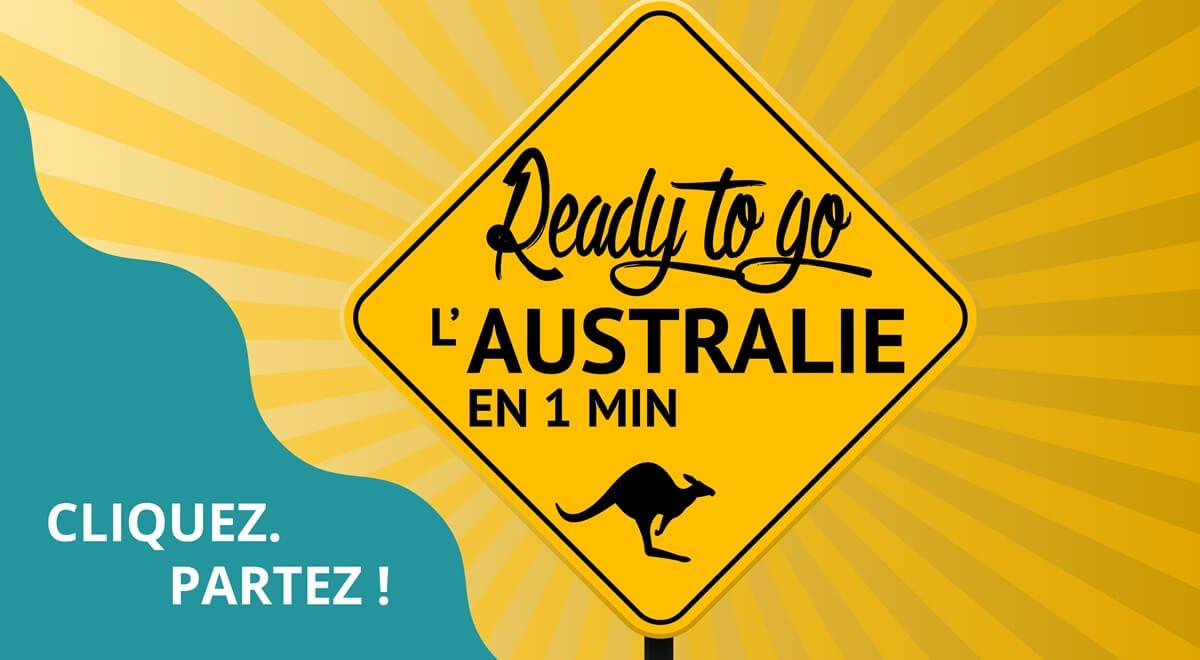 Voyage en Australie  en 1 minute