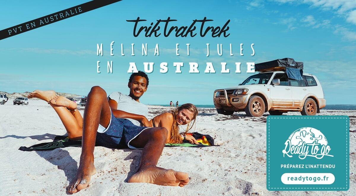 PVT en Australie - Mélina et Jules
