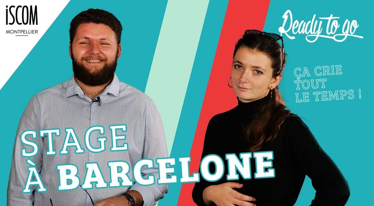 Stage à Barcelone - Etudiants ISCOM - Interview TRIK TRAK TREK – READY TO GO