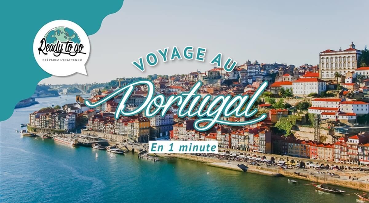Voyage au Portugal en 1 min