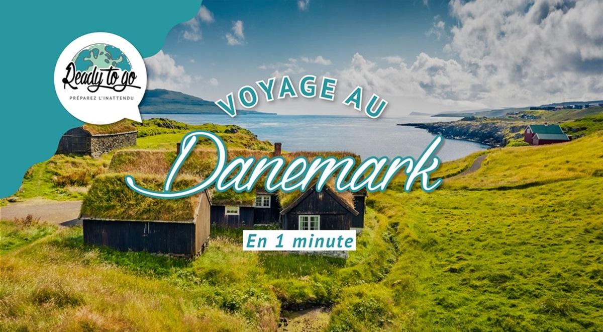 Voyage au Danemark en 1 min