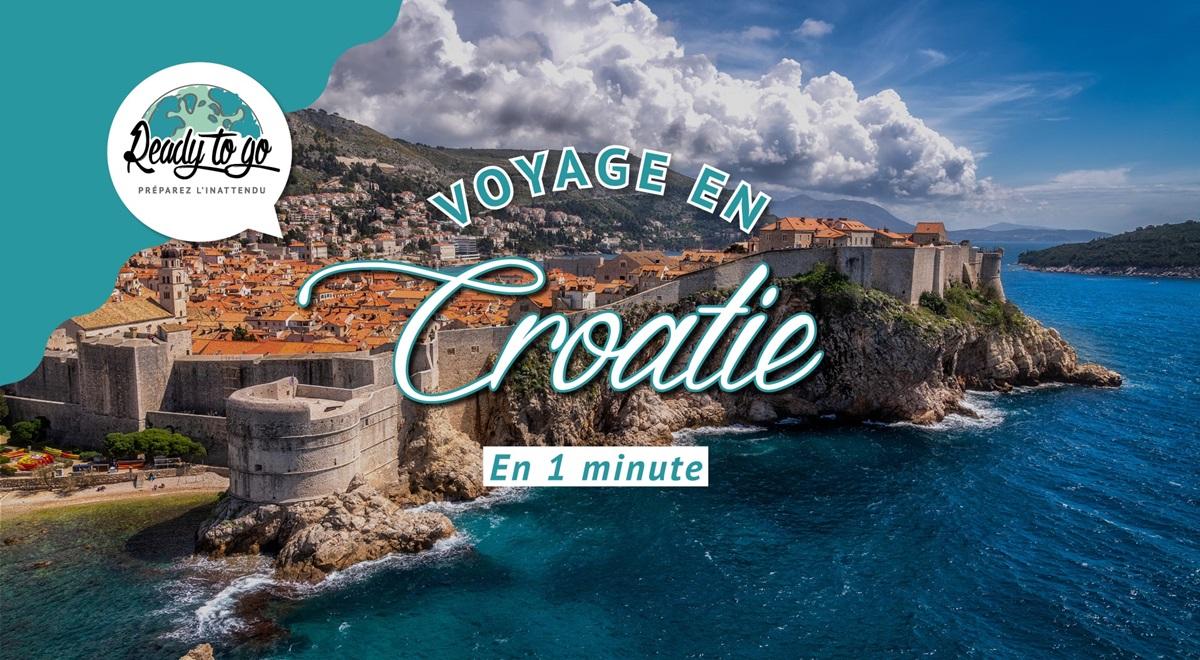 Voyage en Croatie en 1 min