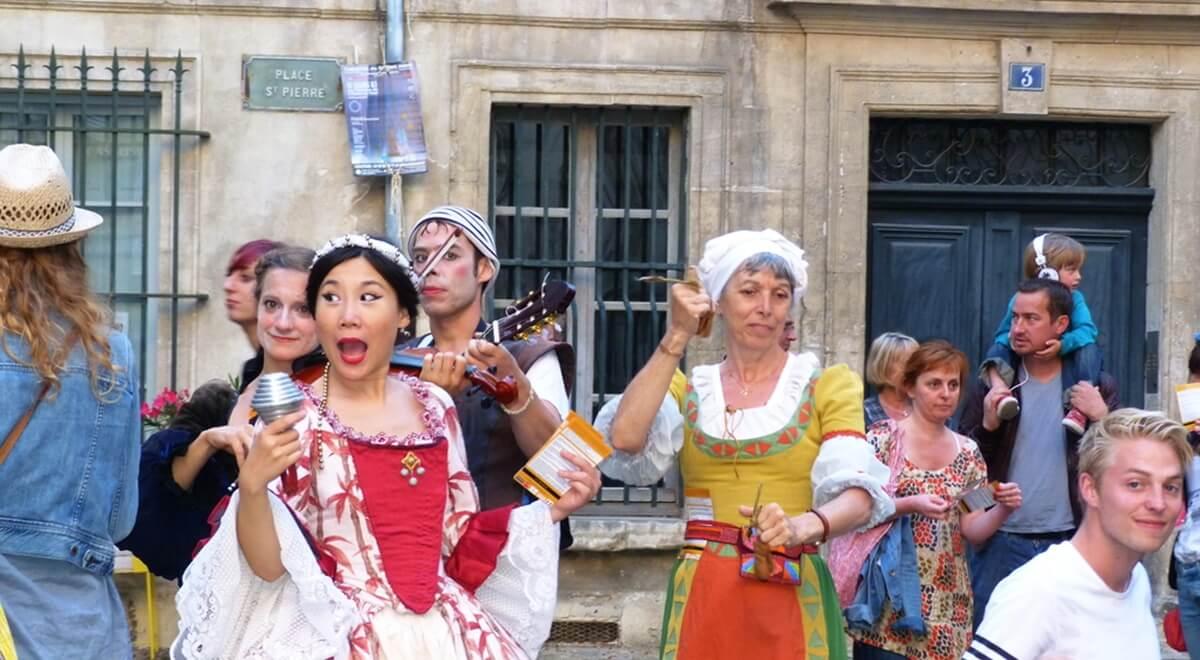 En avant pour le Festival d'Avignon