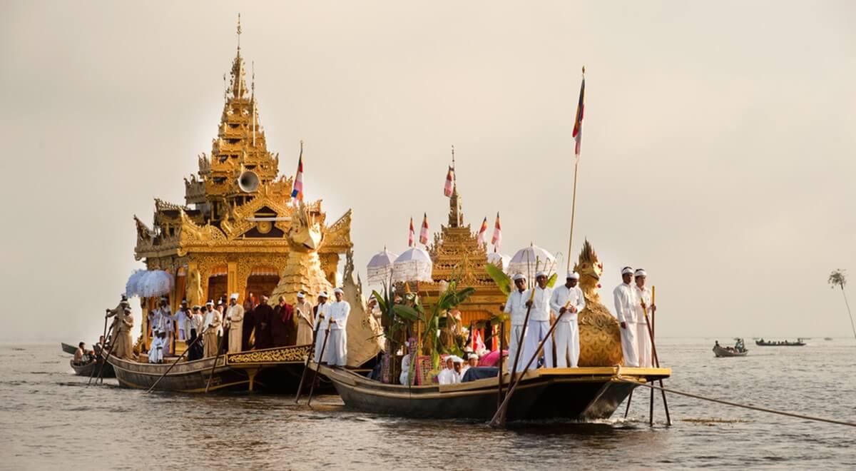 "Festival de Phaung Daw Oo : à la recherche de ""Bouddha"" !"