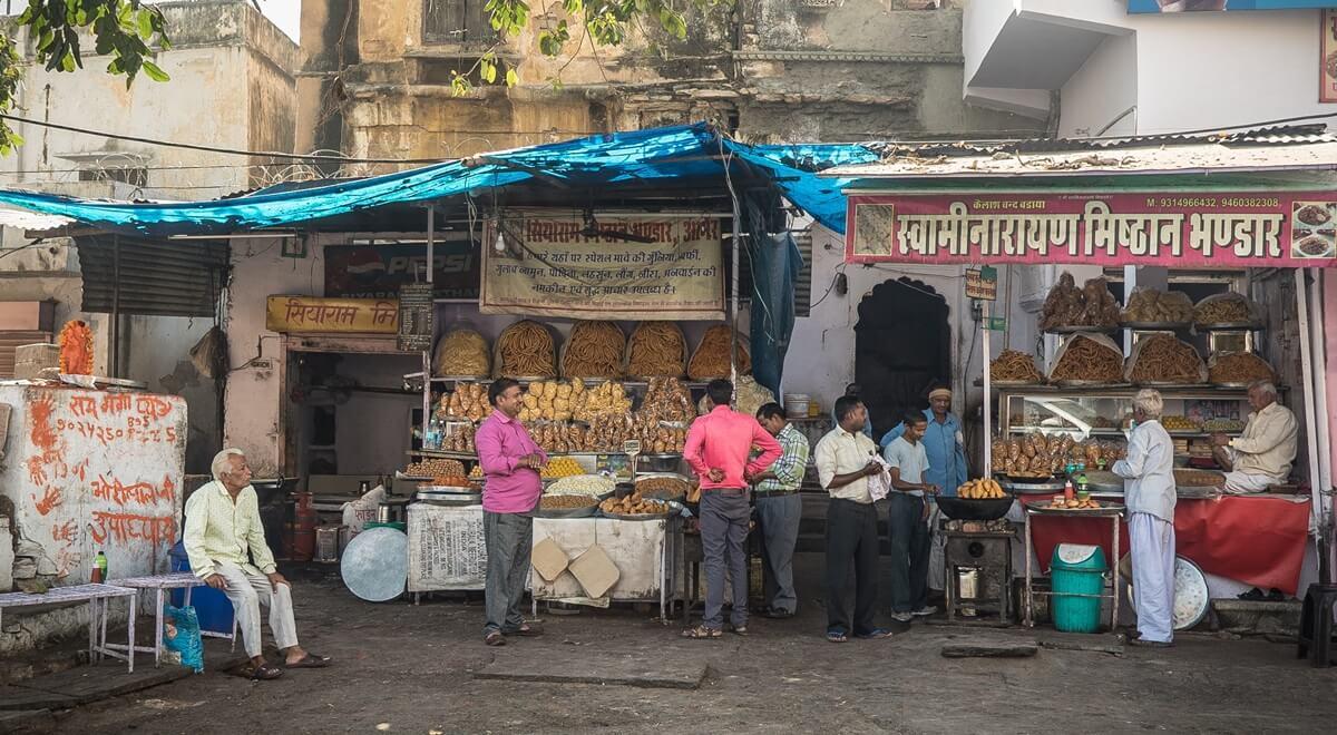 La street food indienne