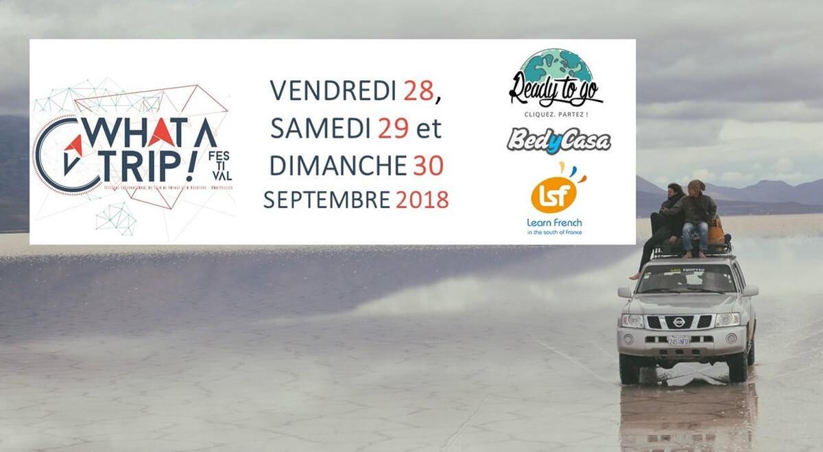 Ready to Go au WAT, festival du voyage de Montpellier