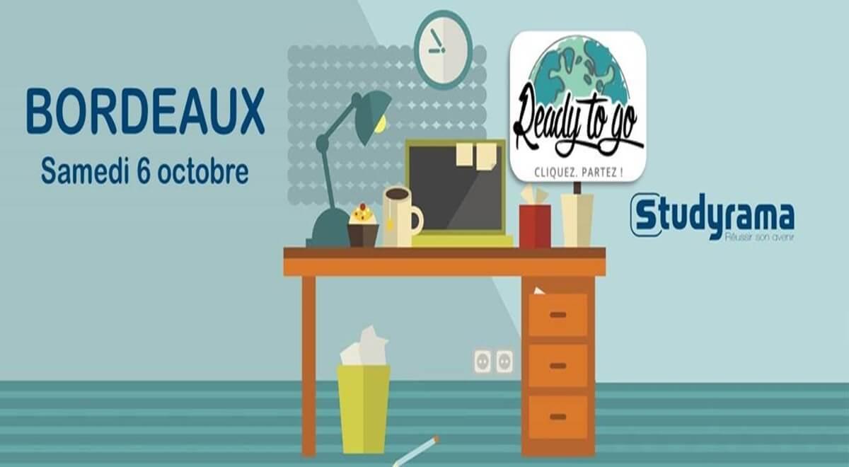 Ready to Go aux Salons Studyrama!