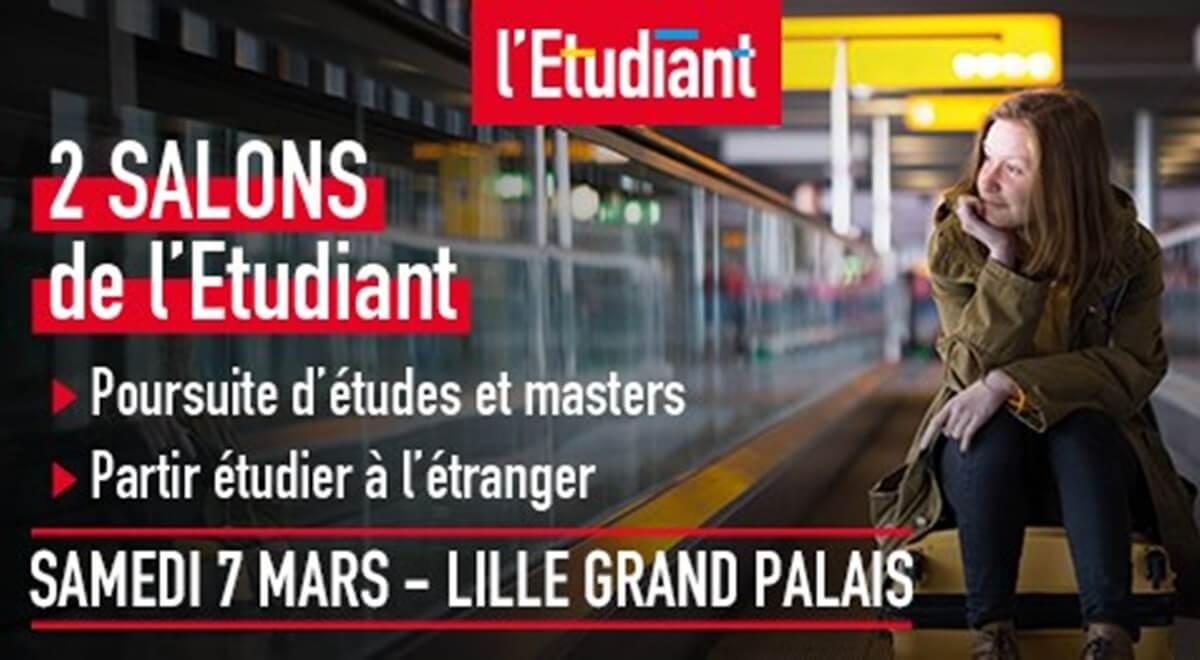 Ready To Go au Salon de l'Etudiant à Lille